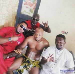 Photo: Nollywood Actor Charles Okocha Recuperating In Hospital